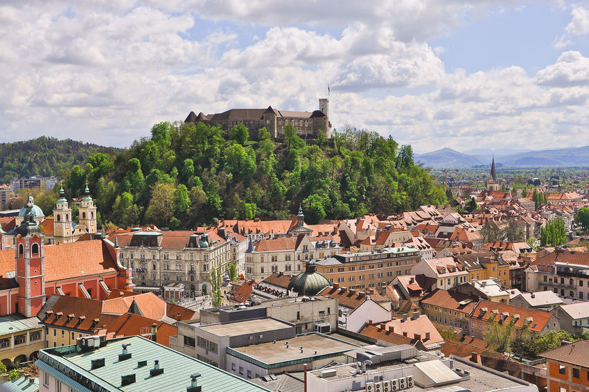 Best EyeEm Shot Castle City Europe Green Green Capital Green Capital Of Europe 2016 Ljubljana Ljubljana Castle Ljubljanica Nature Popular Rise Of Nature Sky Slovenia Spring Sunny Travel Urban Urban Nature Urbanity Vacation