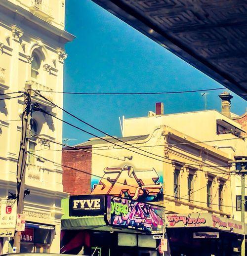 Melbourne Graffiti sleepy St. Kilda...