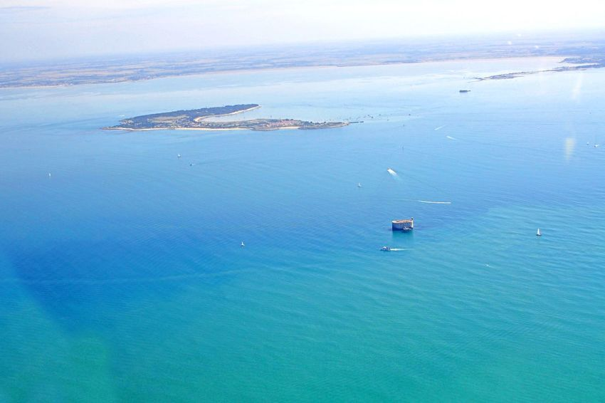 Atlantic Sea Fort Boyard Oleron Island Skyview