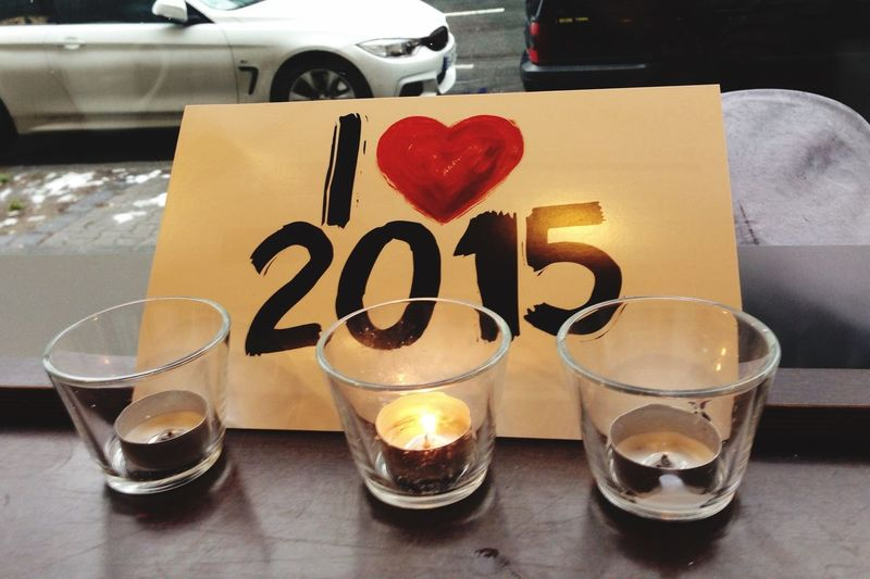 Happy New Year 2015 Bye Bye 2014 Never See You Again Best Wishes From Berlin