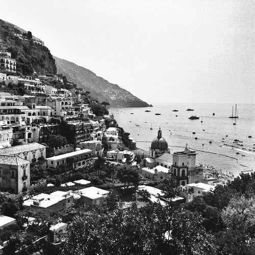 Cityscapes Italy Positano Trip Holiday View Sea Traveling Travel Shades Of Grey