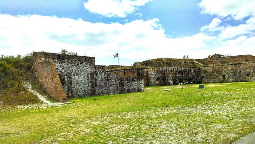 Fort Pickens Civil War Civilwarfort Architecture Exterior View