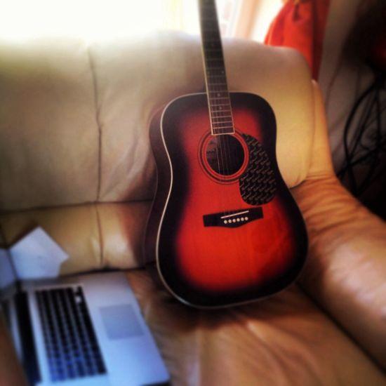 My new guitare ( lena )