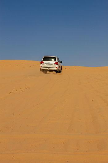 Car On Desert