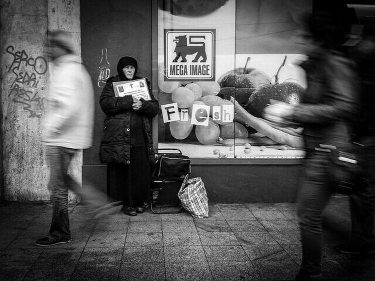 Nun Passing Strangers Movement Abstract Black & White B&w Streetphoto_bw Streetphotography Fresh Capturing Movement