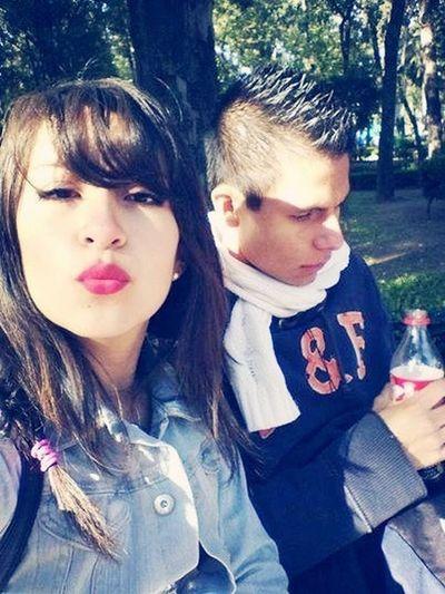 Con mi amiga Arantza ☺ ...