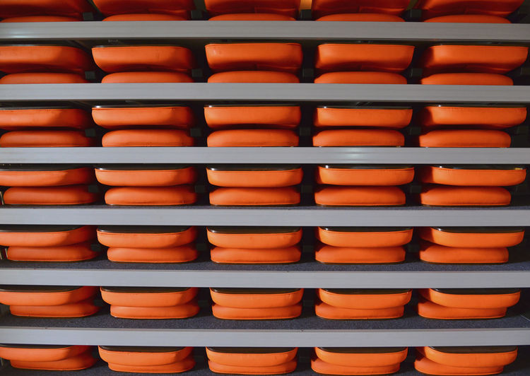 abstract background Backgrounds Full Frame Repetition In A Row No People Large Group Of Objects Arrangement Abundance Side By Side Indoors  Stack Still Life Order Close-up Orange Color Pattern Brown Security Food And Drink Day
