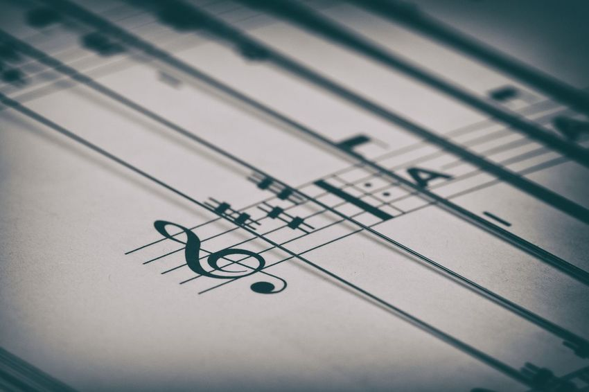 """Tell me what you listen to, and I'll tell you who you are."" ― Tiffanie DeBartolo Arts Culture And Entertainment Chord Chords Classical Music Close-up Indoors  Macro Macro Photography Macro_collection Music Musical Note Paper TAB Creative Space"