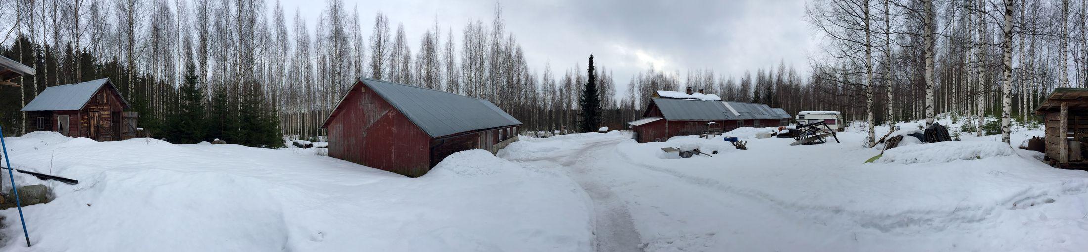 Snow everywhere ❄️ 360° Finland Nice View