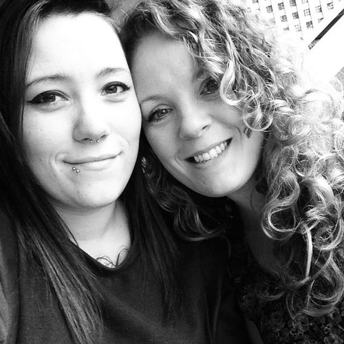 Miss this one Beautiful Selfie Curlsgetthegirls Smile Wearecool Sheisamazing MissHer Piercings Blackandwhite