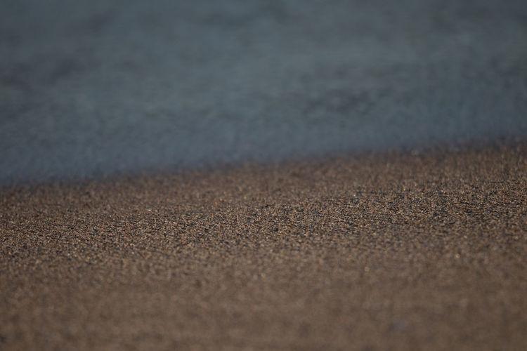 Full frame shot of sand road
