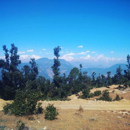 Himalayan view from Chaukori. UK. India Chaukori Uttarakhand Uttarakhandtourism Wintertourisminuttarakhand Mountaintourism Adventutetourism Lonelyplanet Incredibleindia