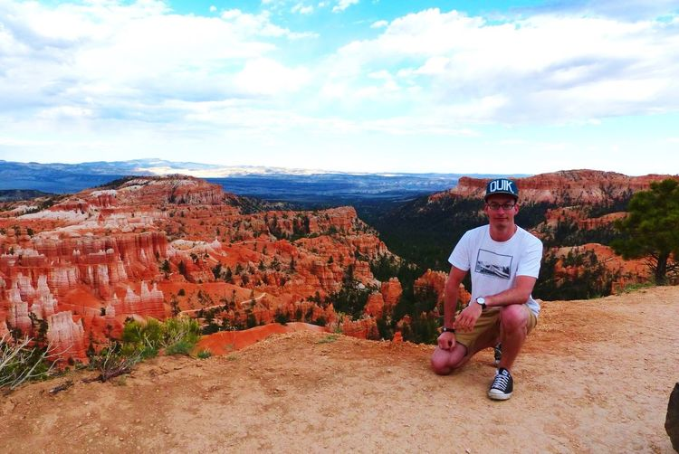 Bryce Canyon Selfportrait That's Me