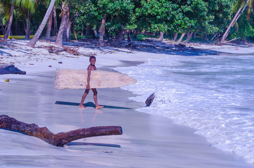 Adventures In Paradise Beach Remote Papua New Guinea Surf Travel Surfing Travel Destinations Village Life Wooden Surfboards