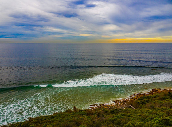 Victorian Shores Bells Beach Victoria Australia Australian Photographers Beach Beauty In Nature Cloud - Sky Day Horizon Over Water Nature No People Outdoors Scenics Sea Shorelines Sky Tranquil Scene Tranquility Water Wave