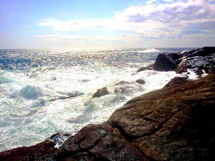 Rocky Coastline Bayoffundy Novascotia Home Sweet Home follow #f4f #followme #TagsForLikes #TFLers #followforfollow #follow4follow #teamfollowback #followher followbackteam followh Follow4follow EyeEm Nature Lover EyeEm Best Shots