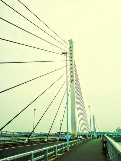 清砂大橋 荒サイ 自転車 ポタ&ライド Scenery Bridge Cycling Enjoying Life