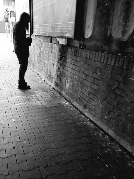 Tunnel Black And White Photography Black And White Collection  Black And White Portrait People And Places Person Portrait Portrait Photography Portrait Of A Man  Old Man City Life City Street People On The Street Homeless Man In Black Street Life Monochrome Photography Galaxy S7 Edge