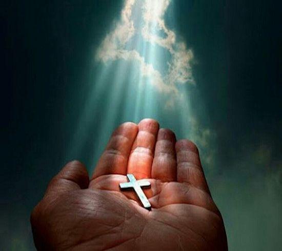 Follow in gods steps it will lead you to happynies Jesus God Love Cross Real Godsnotdead