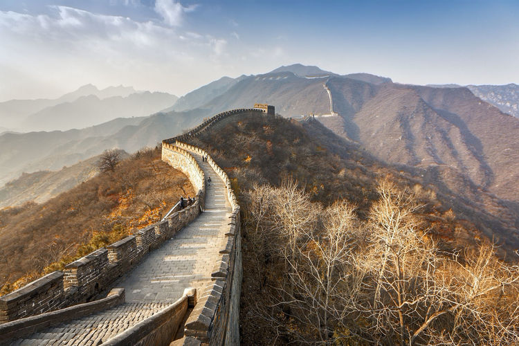 Mutianyu Great Wall of China, Beijing, History Architecture History Place Greatwallofchina Greatwall