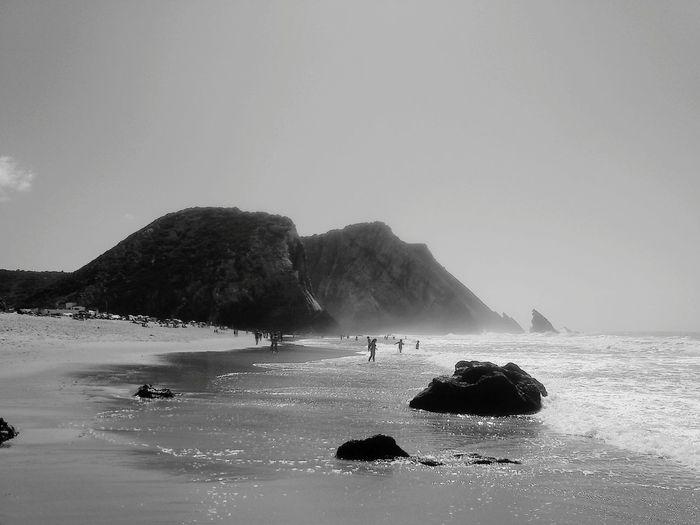 Adraga Adraga Beach Praiadaadraga Praia Da Adraga Beach B&w B&w Photography B&wbeach B&w Nature B&W Collection