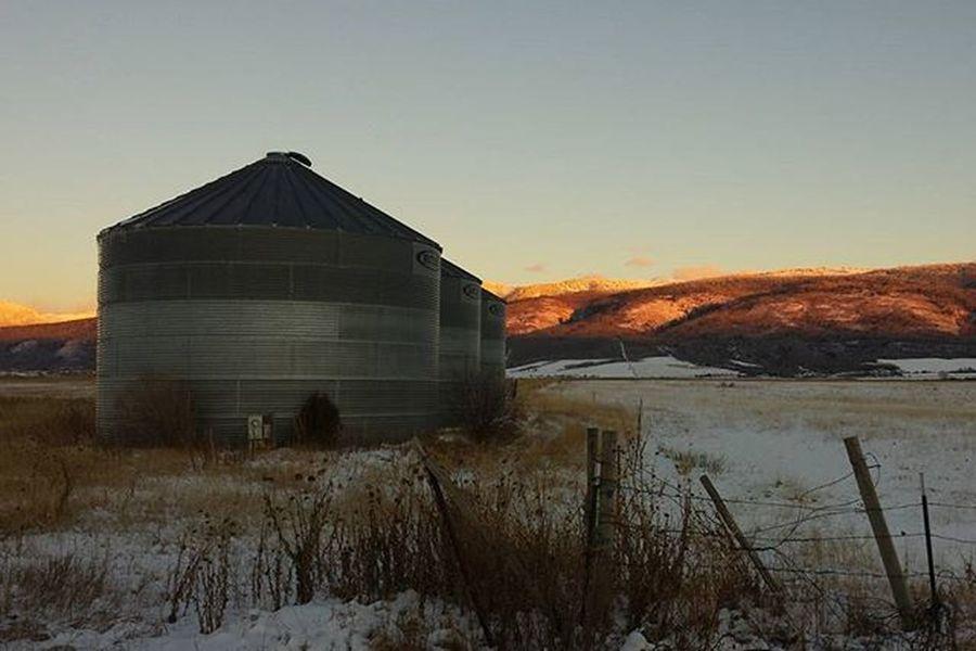 Farm country. Tetonvalley Idaho Idahogram Onlyinidaho CountryLivinG Farmlife Sunset Novemberinthetetons Wydaho Idahome Nofilter Nofilterneeded