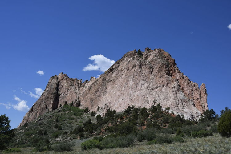 EyeEmNewHere Rock Face Adventure Blue Sky Garden Of The Gods High Landscape Mountain Nature No People Outdoors Peak Rock Rock Outcrop Rock Outcropping Scenery Sheer Sky Steep Steeple Wallpaper White Rock Lake