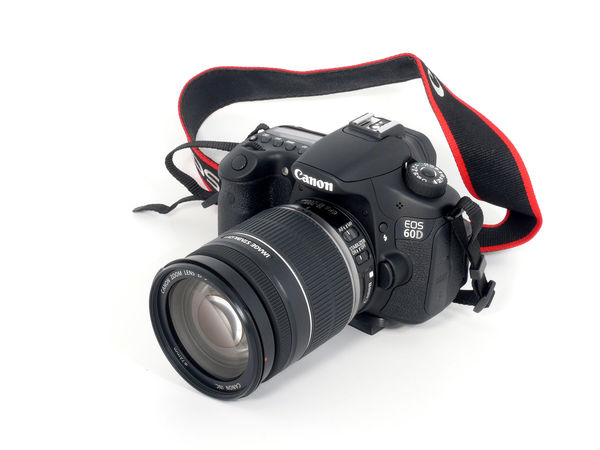 Black Color Camera - Photographic Equipment Canon Canon 60d Canon Eos  Canon Slr Canon60d Close-up Digital Camera Digital Single-lens Reflex Camera Digitalcamera Lens - Eye Modern No People Photography Themes SLR Camera Studio Shot Technology White Background