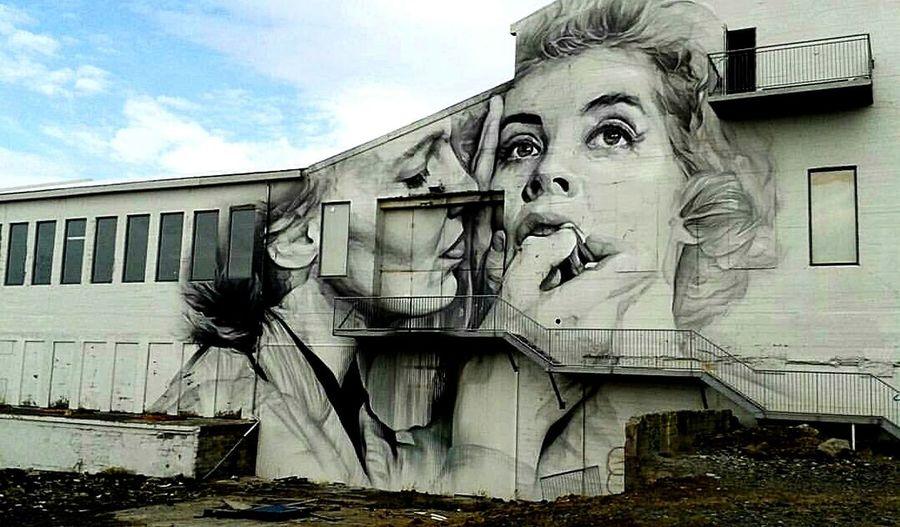 Graffiti de Guido Van Helten