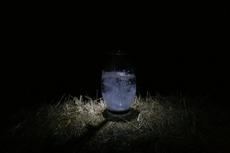 Green Color HUAWEI Photo Award: After Dark Limes Night Photography Nightphotography Nighttime Straw Bale Clear Glass Immuminated Night Water