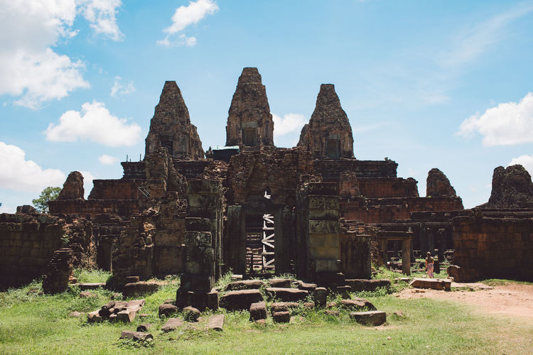 Siem Reap Cambodia Angkor History Sky The Past Built Structure Architecture Cloud - Sky Ancient Religion Travel Destinations Old Ruin Spirituality Place Of Worship Ancient Civilization Belief Nature Building Exterior Old Tourism Day Ruined Archaeology No People Outdoors Deterioration