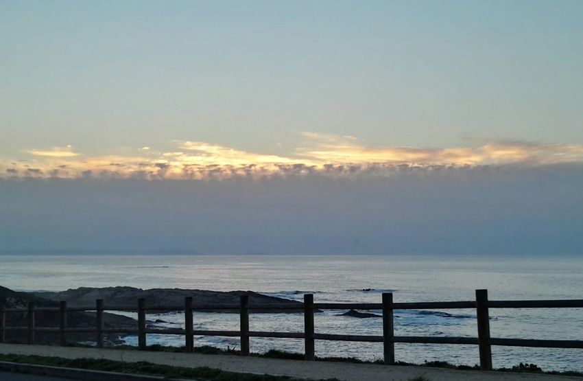 Outdoors Water Sea Beauty In Nature Sunset Clouds And Sky Beautiful Nature Galiciameiga First Eyeem Photo Natural Photography Love Sea Relaxing Moments Innerpeace EyeEm Gallery Peace Of Mind Peace And Tranquility Travels Beauty In Nature Horizon Over Water Spain♥ My Best Travel Photo