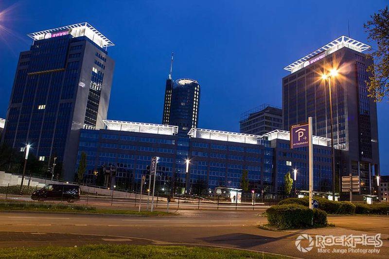 Evonik Center Essen Available Light