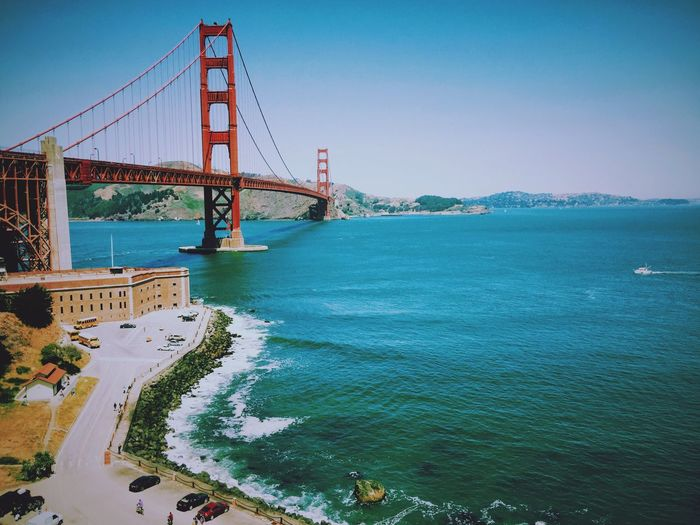 My Favorite Photo PhotobyTn Traveling Mountain View Mountains And Sky Eyemphotography Blue Sky Ocean View Golden Gate Bridge Peace And Quiet Photography Travel Photography San Francisco California Market Reviewers' Top Picks