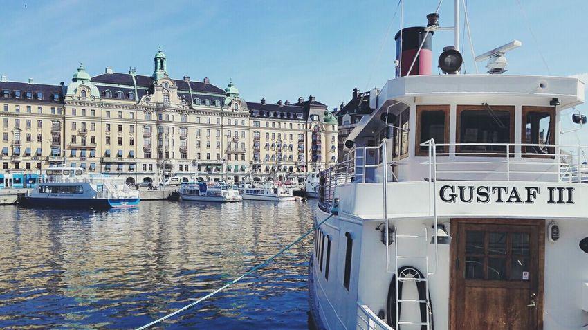 Nautical Vessel Harbor Sea Travel Destinations Vacations Ship Outdoors Water Stockholm Sweden Marina Travel