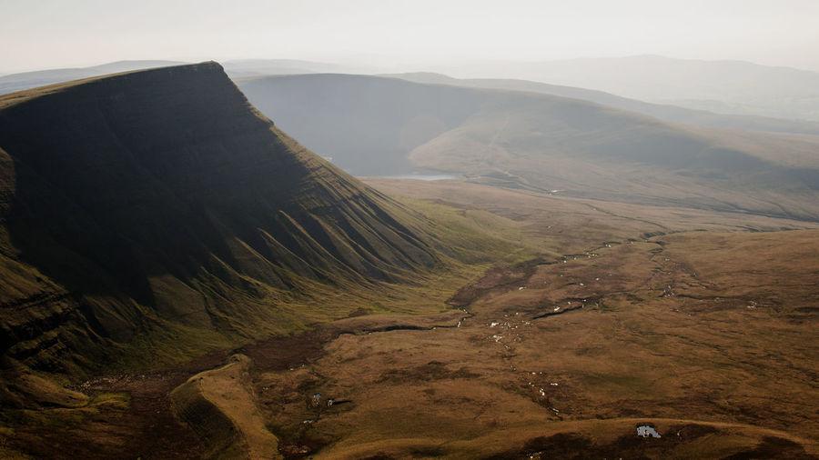 Carmarthen Fans Wales Camarthenfans Blackmountain Mountain Sky