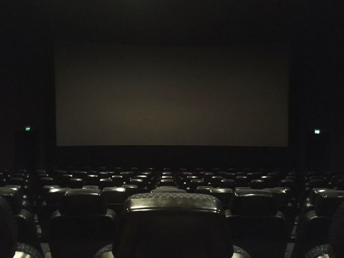Projection Screen Indoors  Empty Seat Arts Culture And Entertainment Auditorium Audience Film Industry People Day