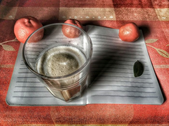 Sometimes no words is better.. Breakfast Cappuccino On The Table Cup Table Paper Good Morning Fruits Fruit Caffè Mandarin Oranges Milk And Coffee Coffee Time Break LINE Lines Quaderno Colazione EyeEm Best Shots Liquid Lunch EyeEm Gallery EyeEm Best Edits Linee Mandarini No Words