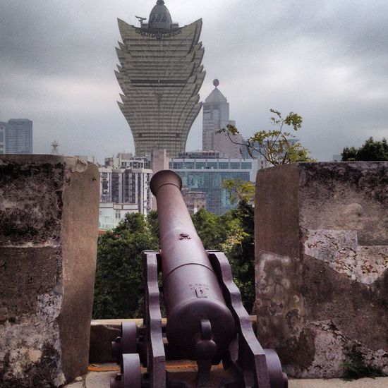 Ancient Civilization Architecture Casino Cultures Famous Place Grand Lisboa Macau Outdoors Shooting