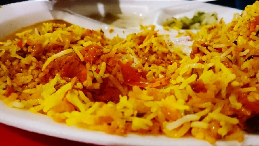 Food Taking Photos biriyani Chickens Nawabi Enjoying Life