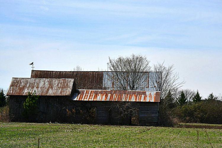 Taking Photos Around My Town This Old Barn Nikonphotography NikonD3100
