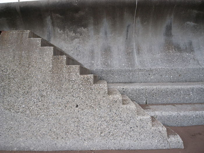 SEA wall steps Beach Defence Deterioration Motion Railing Shadow Staircase Steps Steps And Staircases The Way Forward Wall