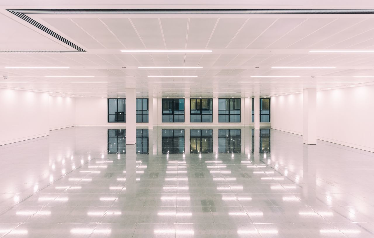 empty, indoors, no people, architecture, illuminated, built structure, day