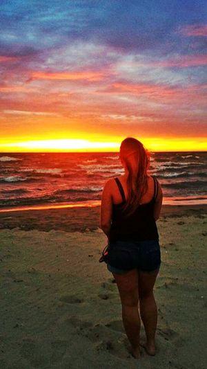 Sunset Beach Sand Water First Eyeem Photo Eyeem Photo