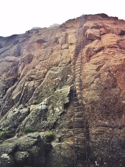 Drakensberg Chain Ladder, Amphitheatre Amphitheatre Beauty In Nature Chain Ladder Climbing Drakensberg, South Africa Ladder To Nowhere Mont Aux Sources Mountain Nature No People Outdoors Rock Formation