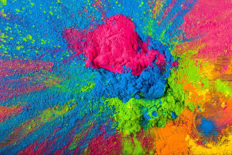 Holi color