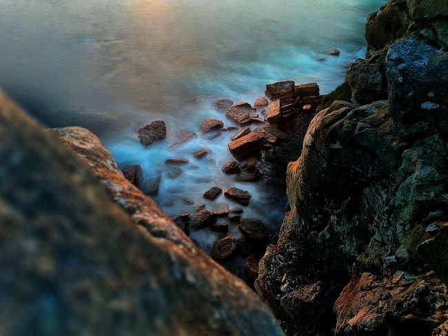 EyeEm Selects Water Rock - Object Nature Sea Beauty In Nature Outdoors Day No People Beach Sky Scenics Landscape Portugal Tranquility Nature Travel Destinations Long Exposure Longexposure Rocks And Water Photographylovers