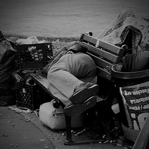 Homeless Homelessman Homeless Person Homelessness  One Man Only Only Men Men One Person Working Adult Real People Manual Worker Adults Only Day People Outdoors