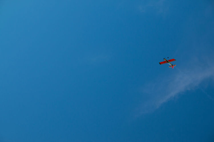 Its my aeroplane Airshow Airplane Vapor Trail Flying Aerobatics Clear Sky Air Vehicle Sky Jet Engine