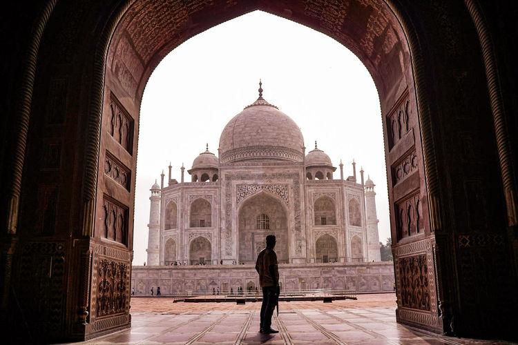 #India #AirAsia #architecture #backpacker #building #love #newdelhi #nomad_life #photography #proveoflov #tajmahal #travelphotography #wonderfulplace EyeEmNewHere Architecture Built Structure Tourism Travel Destinations